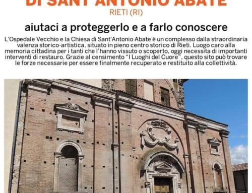 Il Rotary Club Rieti e I luoghi del cuore del Fai