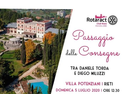 Passaggio delle consegne Rotaract