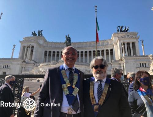 Apertura Anno Rotariano 2020-2021